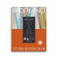 Альбом для акварели Fabriano Watercolour Studio 300г/кв.м (25%хлопок) 28x35,6см Сатин 50л склейка по 1 стороне