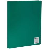 Папка с 10 вкладышами OfficeSpace, 8мм, 400мкм, зеленая