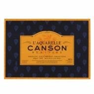 Блок для акварели Canson Heritage 300г/кв.м (хлопок) 18*26см 20листов Фин склейка по 4 сторонам