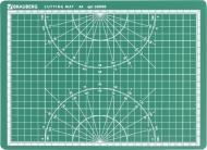 Коврик для резки Brauberg, 3-слойный, А4 (300х220 мм), двусторонний, толщина 3 мм, самовосстанавливающийся
