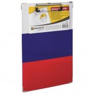 """Доска-планшет Brauberg """"Flag"""" с прижимом А4 (226х315 мм), российский флаг"""