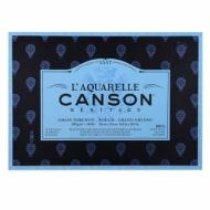Блок для акварели Canson Heritage 300г/кв.м (хлопок) 36*51см 20листов Торшон склейка по 4 сторонам