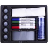 Набор принадлежностей для магнитно-маркерных досок Hebel, 12 предметов