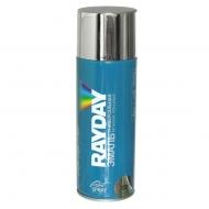 Краска акриловая Rayday Металлик. Цвет: хром, 520 мл