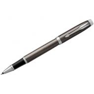 """Ручка-роллер Parker """"IM Dark Expresso CT"""" черная, 0,8мм, подар. уп."""