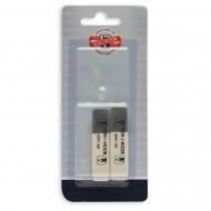 Универсальный ластик KOH-I-NOOR Sunpearl 6541/60 BL для графита, пастели, угля и чернил, упаковка 2 шт.