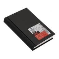 Блокнот для зарисовок Canson One 100г/кв.м 10.2*15.2см 100листов твердая обложка черный