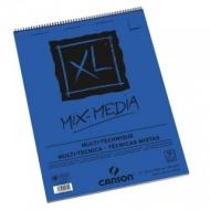Альбом для смешанных техник Canson Xl Mix-Media 300г/кв.м 42*59.4см 15листов Среднее зерно
