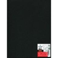 Блокнот для зарисовок Canson One 100г/кв.м 21.6*27.9см 100листов твердая обложка черный