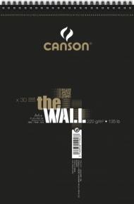 Альбом для маркера Canson The Wall 220г/кв.м 21х31.4см 30листов спираль по короткой стороне