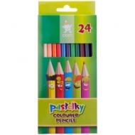 """Цветные карандаши Koh-I-Noor """"Centi"""", 24 цвета, заточенные"""