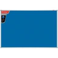 """Доска фетровая Berlingo """"Premium"""", 60*90см, синяя, алюминиевая рамка"""