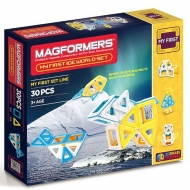 Магнитный конструктор Magformers My First Ice World Set (30 дет)