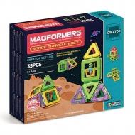 Магнитный конструктор Magformers Space Traveler Set (35 дет)