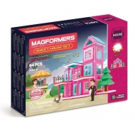 Магнитный конструктор Magformers Sweet House Set (64 дет)