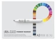 Альбом-склейка для маркеров Winsor&Newton Pigment Marker 75г/кв.м А3 50л