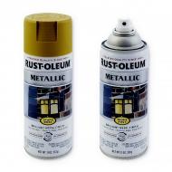 Эмаль антикоррозийная металлик Rust-Oleum Stops Rust Metallic, аэрозоль 312 г