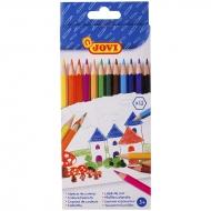 Набор цветных карандашей JOVI для рисования и раскрашивания, 12 цветов