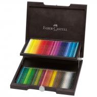"""Карандаши цветные художественные Faber-Castell """"Polychromos"""" 72 цвета, деревянная шкатулка"""