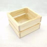 Заготовка Timberlicious  деревянная для декорирования реечный ящик 15х15х9см