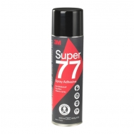 Клей-спрей 3M Scotch-Weld 77 для ткани, кожи, поролона, картона, аэрозоль, 500 мл