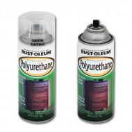 Поолиуретановый лак Specialty Polyurethane RUST-OLEUM для дерева и металла, аэрозоль, 319 г