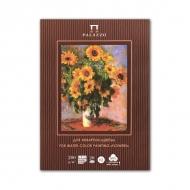 Планшет для акварели Лилия Холдинг «К.Моне. Палаццо. Цветы», 50% хлопка, А4, 20 л., 200 г/м2