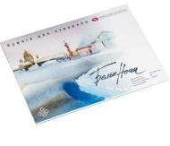 """Альбом-склейка """"Белые Ночи"""", 200г/м2, мелкозернистая, размер 300х400 мм, 20 листов"""