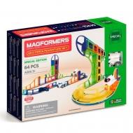 Магнитный конструктор Magformers Sky Track Adventure Set (64 дет.)