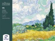 Блок для акварели Van Gogh National Gallery 300г/кв.м (целлюлоза) 24х32см 12л склейка по 4 сторонам