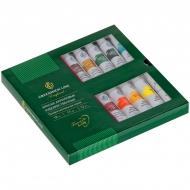 Краски акриловые Greenwich Line, профессиональная серия, 18 цветов, туба 12мл