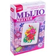 """Набор для мыловарения с картинкой Lori Мыло Магия """"Цветочный аромат"""""""