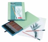 Набор чернографитных карандашей Bruynzeel Design 12 штук в подарочной упаковке