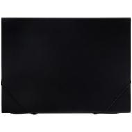 Папка 13 отделений OfficeSpace, A4, 500мкм, на резинке, черная