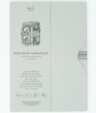 Альбом SM-LT Art Authentic Bristol 185г/м2 A4 50л в папке склейка по длинной стороне