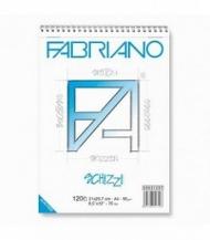 """Альбом для рисования """"Schizzi"""" Fabriano 14,8х21см (А5), 60 листов, 90г"""