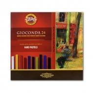 Сухая твёрдая пастель Gioconda KOH-I-NOOR для любителей и профессионалов, 24 цвета
