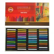 Сухая твёрдая пастель Gioconda KOH-I-NOOR для любителей и профессионалов, 48 цветов