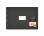 Блокнот для акварели Fabriano Watercolour Book 300г/кв.м (25%хлопок) 14,8x21см Фин 25л спираль по короткой стороне