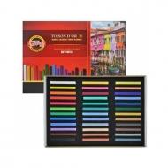 Пастель сухая мягкая Toison D-or KOH-I-NOOR для профессионалов, 36 цветов, 8585036001KS