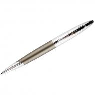 """Ручка шариковая Luxor """"Hooper"""" синяя, 1,0мм, корпус матовый серый, поворотный механизм, подар. уп."""
