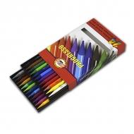 Набор цветных цельнографитных карандашей Progresso KOH-I-NOOR, 24 цвета
