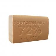Мыло хозяйственное 72% ММЗ, без обертки, 200г