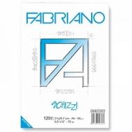 Альбом для рисования А4 Schizzi Fabriano, 21х29,7см, 90г, 120 листов