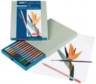 Подарочный набор акварельных карандашей Bruynzeel Design Aquarel, 12 цветов