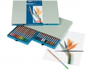 Подарочный набор акварельных карандашей Bruynzeel Design Aquarel, 24 цвета и кисть