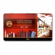 """Подарочный набор для художника Koh-I-Noor """"Gioconda"""" Art Set, 39 предметов"""