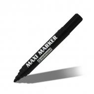 Перманентный маркер MAXI Centropen для для любых поверхностей, 2-4 мм, черный