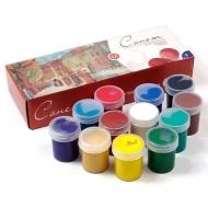 Гуашевые краски Сонет Невская Палитра, набор 12 цветов по 40 мл