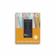 Альбом для акварели Fabriano Watercolour Studio 200г/кв.м (25%хлопок) 20,3x25,4см Сатин 20л склейка по 1 стороне